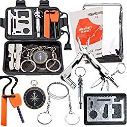 emdmak est survival kit for hiking