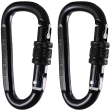locking carabiner clip 2 pack